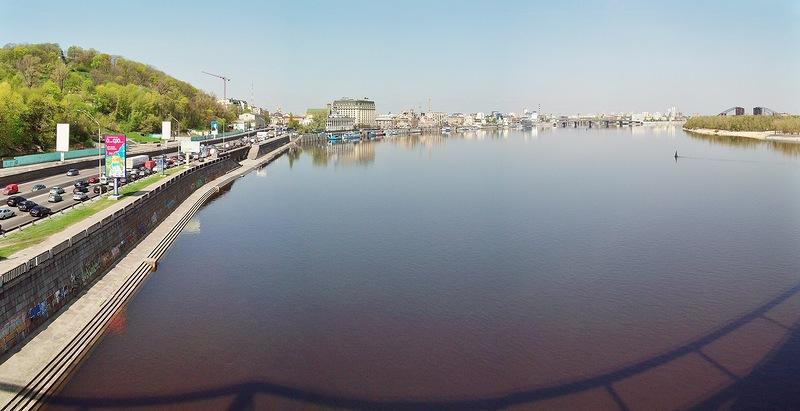 Набережная Киев
